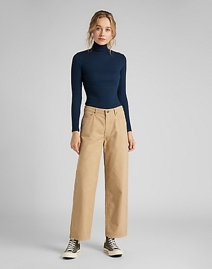 Wide Leg Corduroy in Cornstalk
