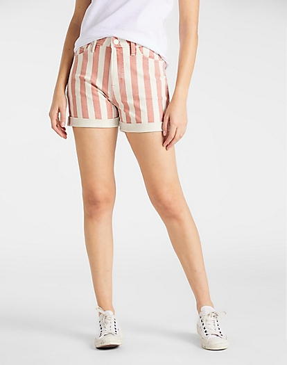 Mom Short in Teracotta