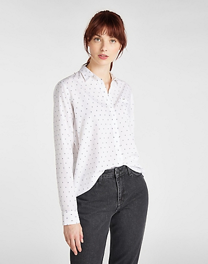 One Pocket Shirt in Bright White