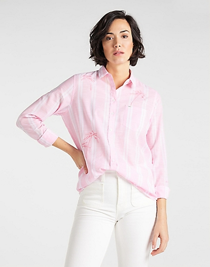 One Pocket Shirt in La Pink