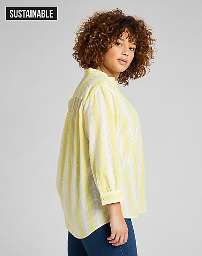 Essential Blouse in Lime Juice