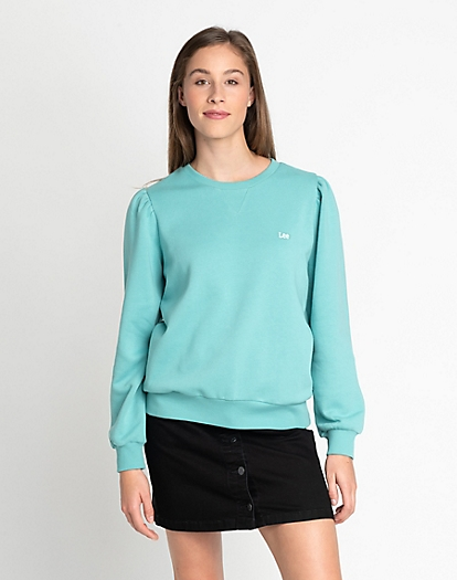 Seasonal Sweatshirt in Agate Green