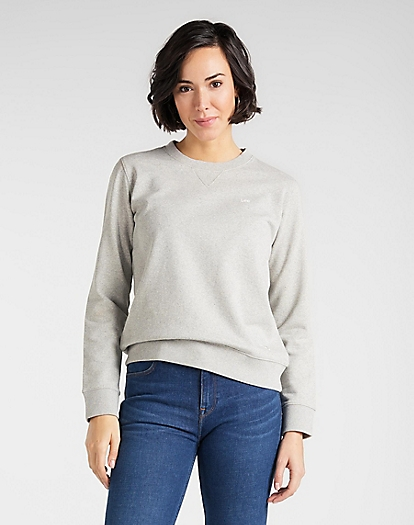 Sustainable Sweatshirt in Grey Mele