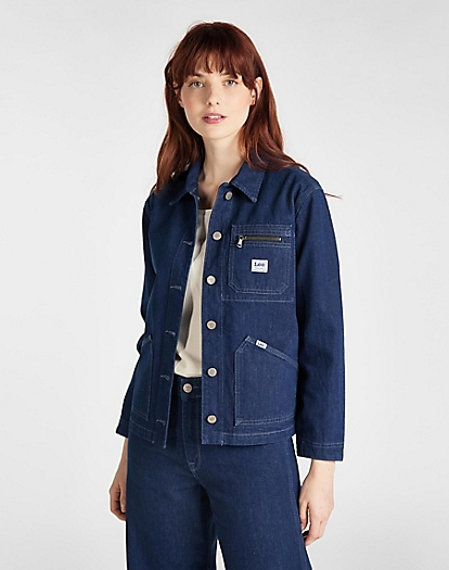 Worker Chore Jacket in Dark Yelt