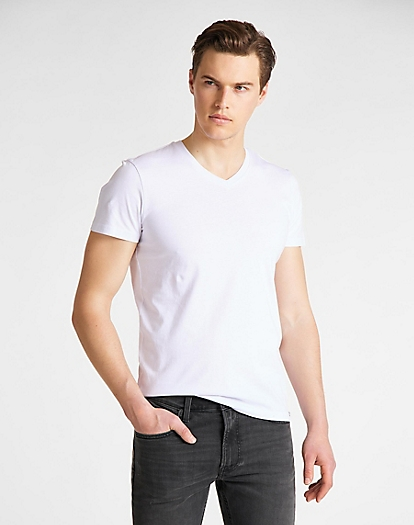 Twin Pack V Neck in 2 Pack Mix