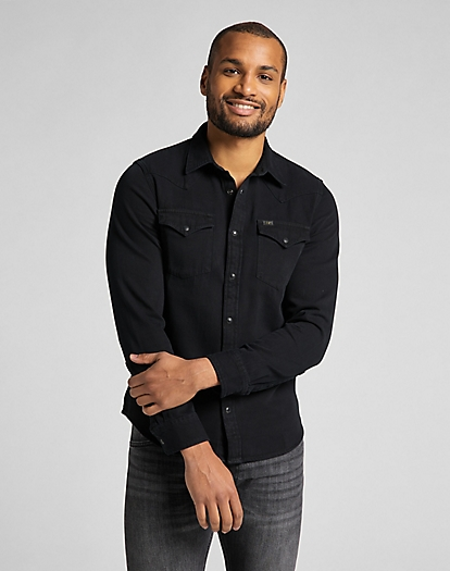 Western Shirt in Black
