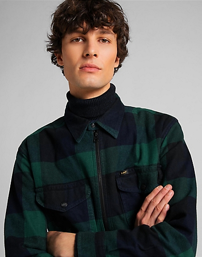Seasonal Short Sleeve Shirt in Pine