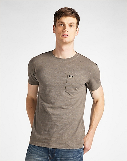 Ultimate Pocket Tee in Utility Green