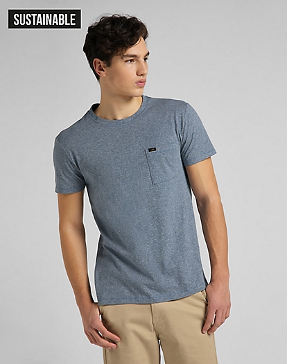 Ultimate Pocket Tee in Piscine