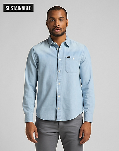 Leesure Shirt in Summer Blue