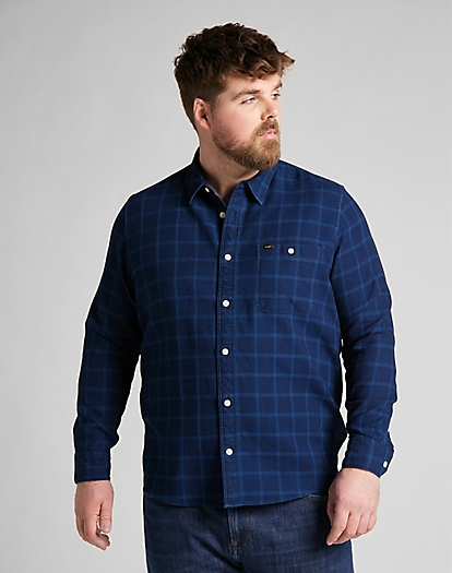 Leesure Shirt in Indigo