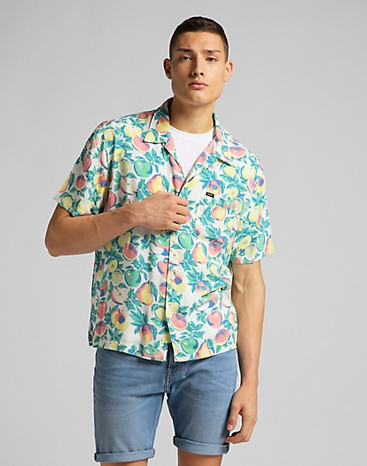 Short Sleeve Resort Shirt in Fairway