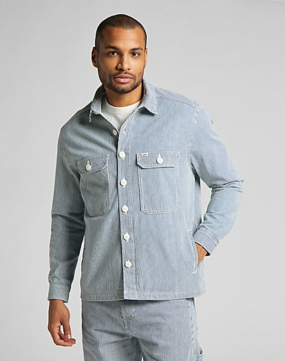 Workwear Overshirt in Summer Wash