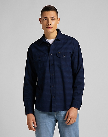 Worker Shirt in Indigo