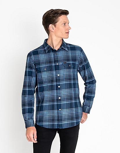 Seasonal Worker Shirt in Frost Blue