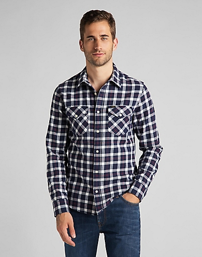Regular Shirt in Navy