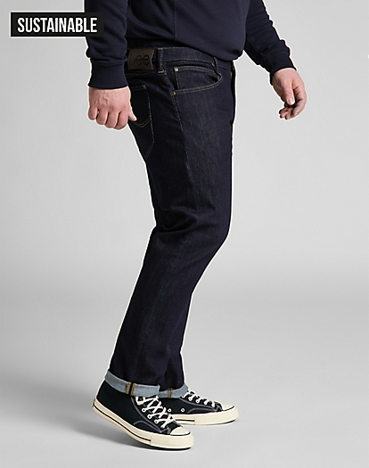 Daren Zip Fly Low Stretch in Rinse
