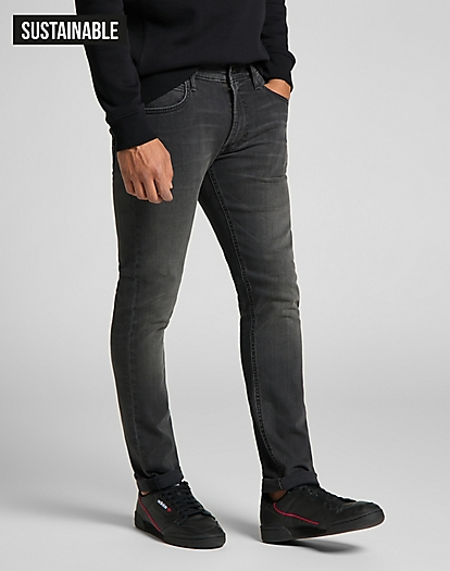 Luke Medium Stretch in Moto Grey