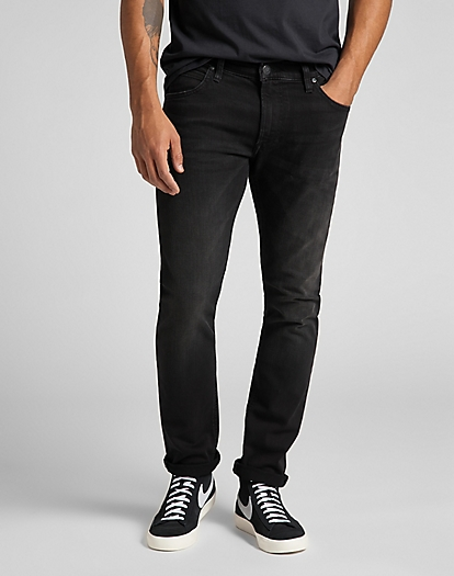 Luke Medium Stretch in Moto Black