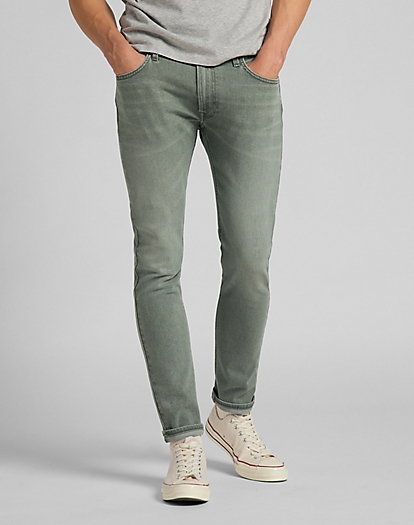 Luke Medium Stretch in Faded Khaki