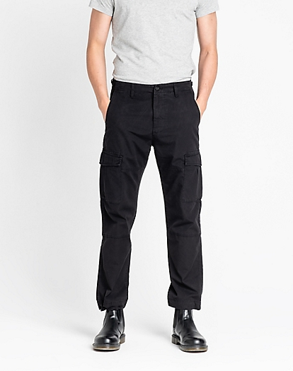 Fatigue Pant in Black