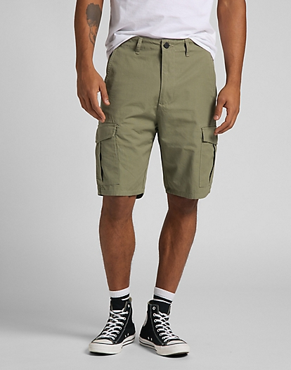 Cargo Short in Lichen Green