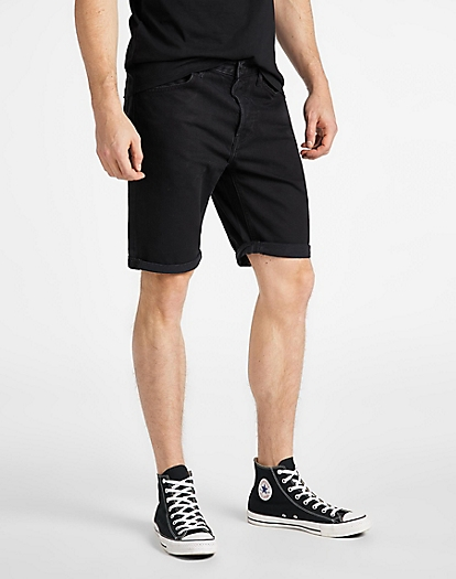 5 Pocket Short in Black Rinse