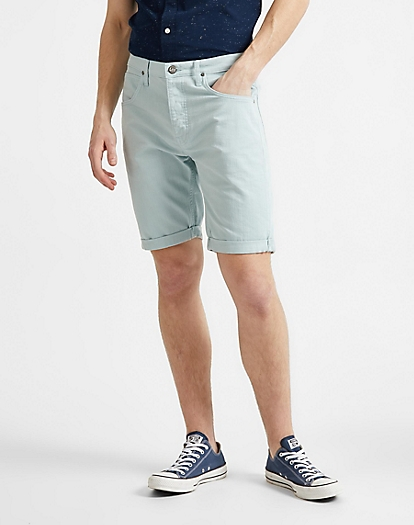 5 Pocket Short in Washed Blue