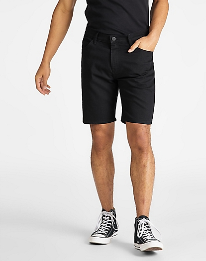 Rider Short in Black Rinse
