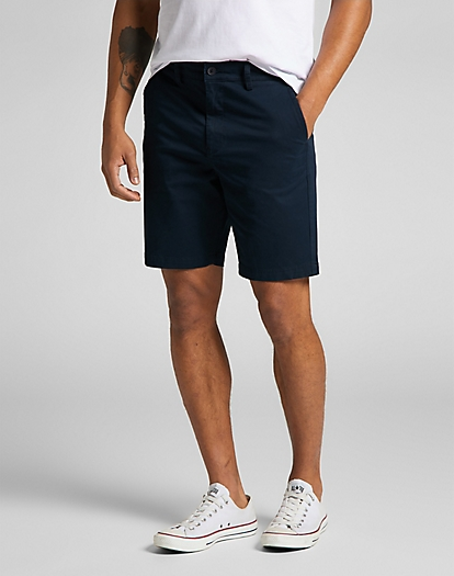 Chino Short in Dark Navy