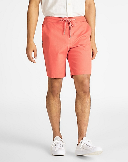 Drawstring Short in Paprika