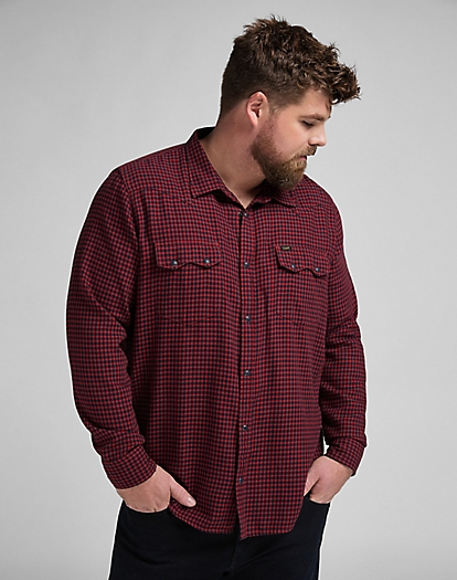 Rider Shirt in Red Ochre