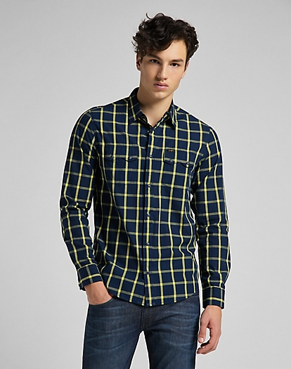 Lee Rider Shirt in Lemon