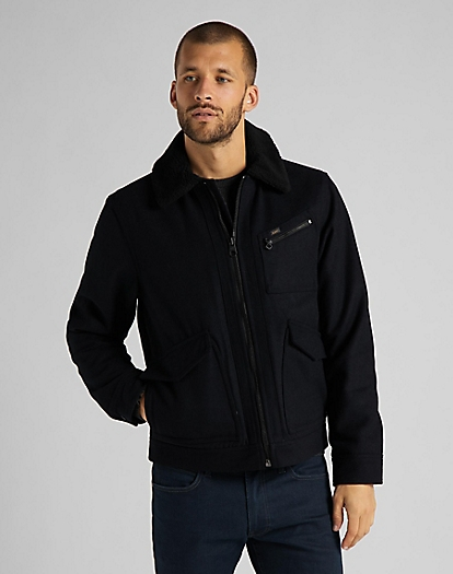 191J Wool Jacket in Black