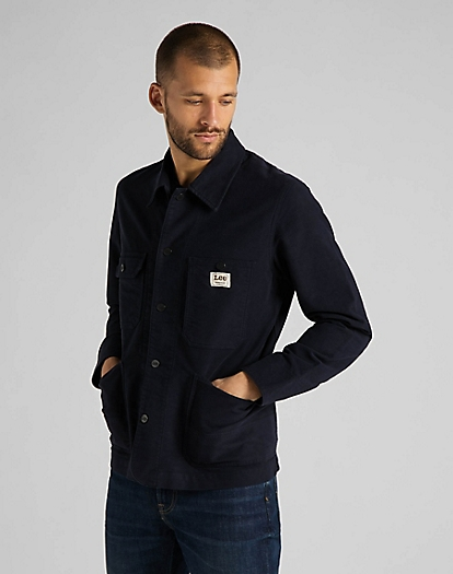Box Pocket Loco Jacket in Sky Captain