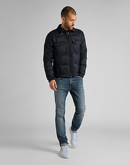 Chetopa Puffer Jacket in Black