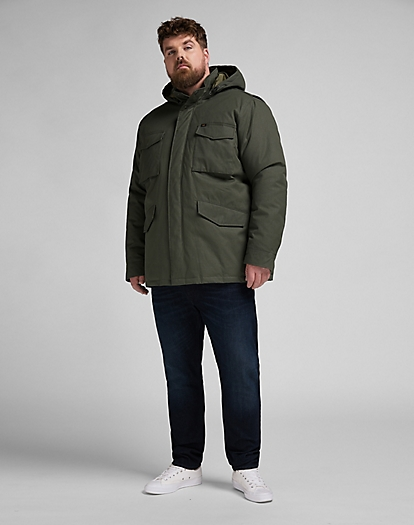 Winter Field Jacket in Serpico Green