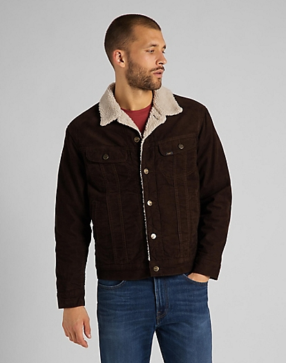 Sherpa Rider Jacket in Winter Brown