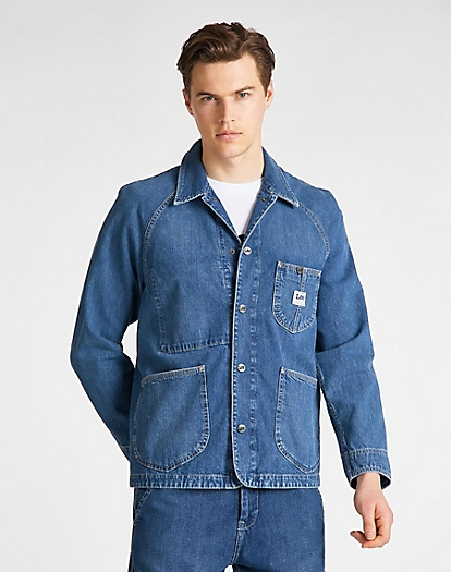Loco Rework Jacket in Vernon Light