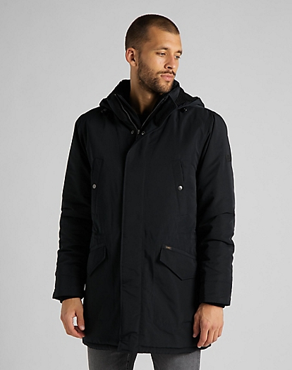 Parka in Black