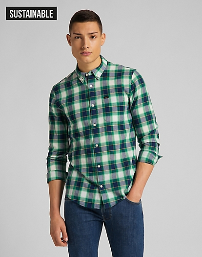 Button Down Shirt in Fairway