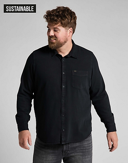 Button Down Shirt in Black