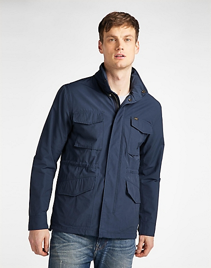 Field Jacket in Navy