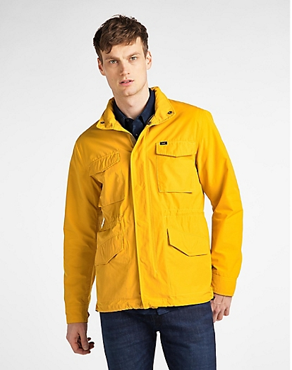 Field Jacket in Golden Yellow