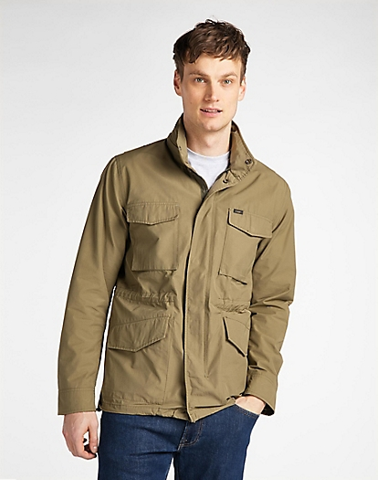 Field Jacket in Utility Green