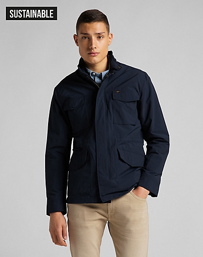 Field Jacket in Sky Captain