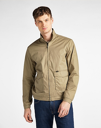 Harrington Jacket in Utility Green