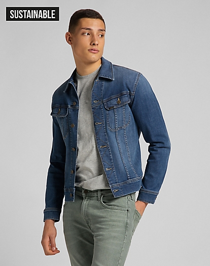 Slim Rider Jacket in Mid Visual Cody