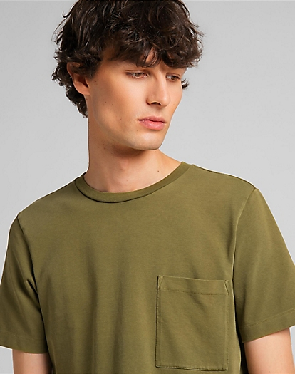 101 Pocket Tee in Olive Branch
