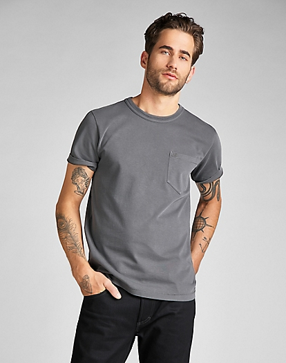 101 Pocket Tee in Black